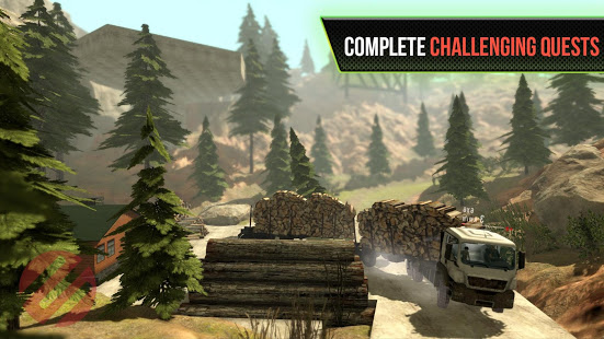 Truck Simulator OffRoad 4 v2.9 screenshots 4
