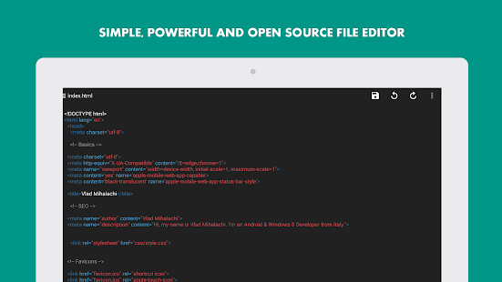 Turbo Editor Text Editor v2.4 screenshots 13