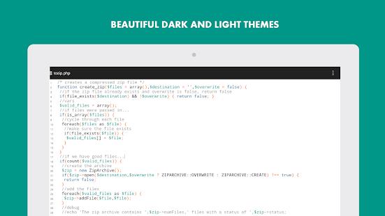 Turbo Editor Text Editor v2.4 screenshots 16