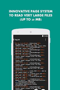 Turbo Editor Text Editor v2.4 screenshots 3