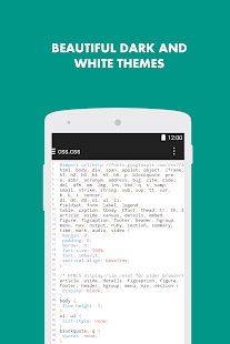 Turbo Editor Text Editor v2.4 screenshots 4