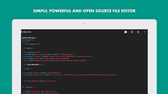 Turbo Editor Text Editor v2.4 screenshots 8