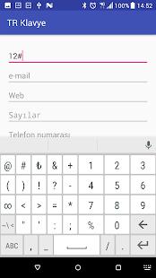 Turkish Keyboard v9.7.0 screenshots 4