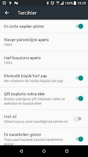 Turkish Keyboard v9.7.0 screenshots 8