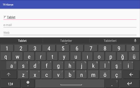 Turkish Keyboard v9.7.0 screenshots 9
