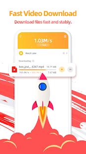 UC Browser-Secure Free amp Fast Video Downloader v13.4.0.1306 screenshots 1