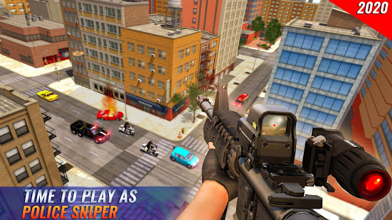 US Police Bike 2020 – Gangster Chase Simulator v screenshots 3