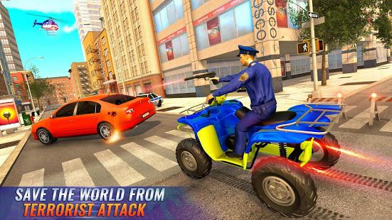 US Police Bike 2020 – Gangster Chase Simulator v screenshots 6