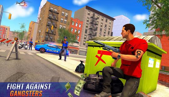 US Police Bike 2020 – Gangster Chase Simulator v screenshots 9