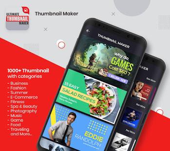 Ultimate Thumbnail Maker amp Channel Art Maker v1.5.0 screenshots 1