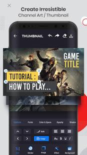 Ultimate Thumbnail Maker amp Channel Art Maker v1.5.0 screenshots 2