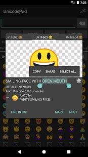 Unicode Pad v2.9.1 screenshots 1