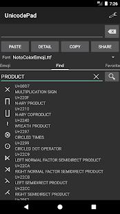 Unicode Pad v2.9.1 screenshots 6
