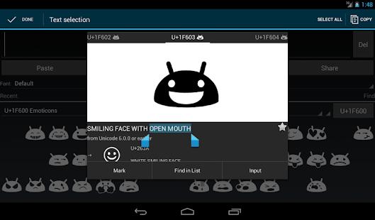 Unicode Pad v2.9.1 screenshots 9