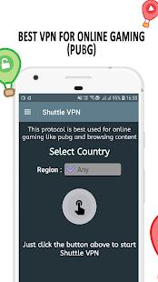 VPN Shuttle VPN – Free VPN Proxy – Fast VPN v2.16 screenshots 5