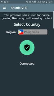 VPN Shuttle VPN – Free VPN Proxy – Fast VPN v2.16 screenshots 7