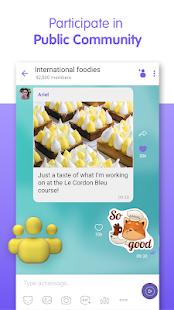 Viber Messenger – Free Video Calls amp Group Chats v15.7.0.5 screenshots 6