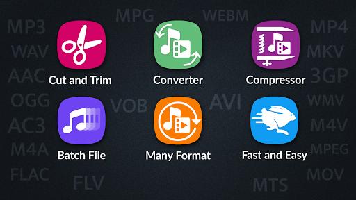 Video Converter Compressor MP4 3GP MKVMOV AVI v0.4.5 screenshots 1