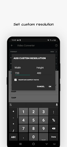 Video Converter Compressor MP4 3GP MKVMOV AVI v0.4.5 screenshots 4