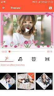 Video Maker from Photos Music amp video editor v1.0 screenshots 6