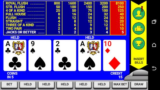 Video Poker Classic Double Up v6.20 screenshots 1