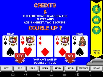 Video Poker Classic Double Up v6.20 screenshots 10