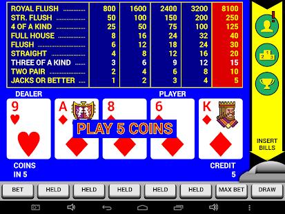 Video Poker Classic Double Up v6.20 screenshots 12