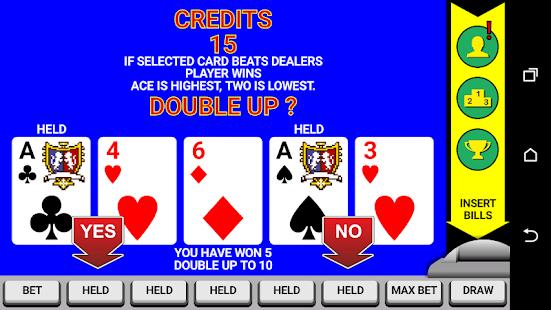 Video Poker Classic Double Up v6.20 screenshots 2