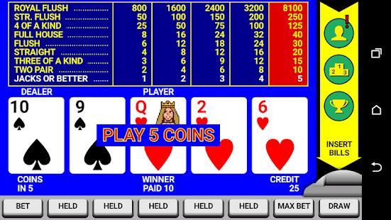 Video Poker Classic Double Up v6.20 screenshots 4