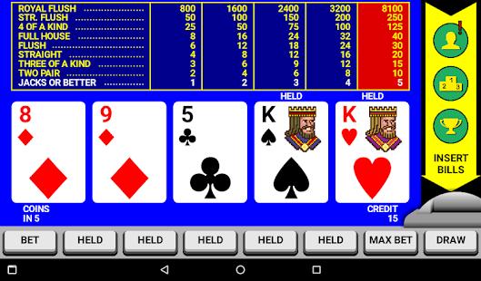 Video Poker Classic Double Up v6.20 screenshots 5