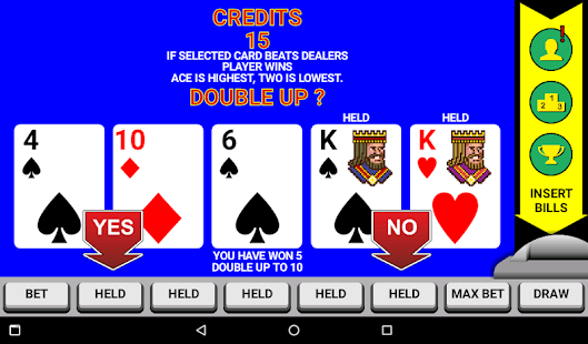 Video Poker Classic Double Up v6.20 screenshots 6