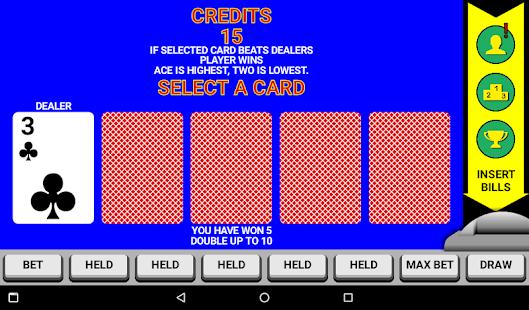 Video Poker Classic Double Up v6.20 screenshots 7