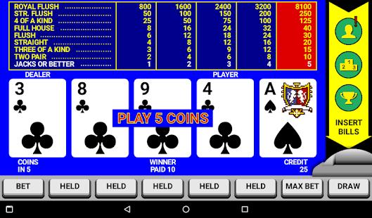 Video Poker Classic Double Up v6.20 screenshots 8