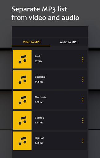Video To Audio Converter UltraFast Mp3 Converter v3.0.7 screenshots 10