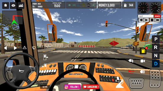 Vietnam Bus Simulator v2.6 screenshots 2