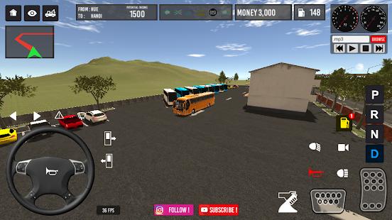 Vietnam Bus Simulator v2.6 screenshots 6