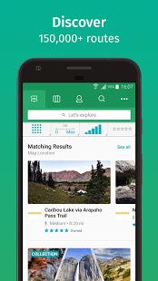 ViewRanger Trail Maps for Hiking Biking Skiing v10.11.32 screenshots 1