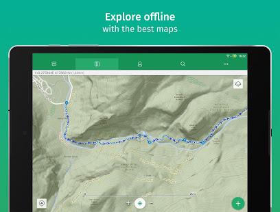 ViewRanger Trail Maps for Hiking Biking Skiing v10.11.32 screenshots 2