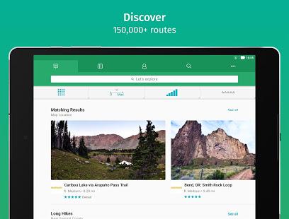 ViewRanger Trail Maps for Hiking Biking Skiing v10.11.32 screenshots 3