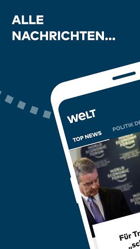 WELT News Nachrichten live v6.7.3 screenshots 1