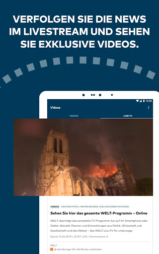 WELT News Nachrichten live v6.7.3 screenshots 11
