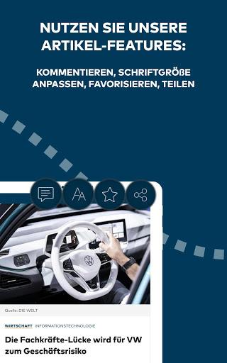 WELT News Nachrichten live v6.7.3 screenshots 12