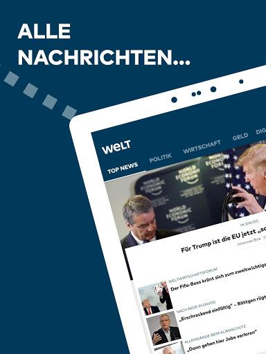 WELT News Nachrichten live v6.7.3 screenshots 13