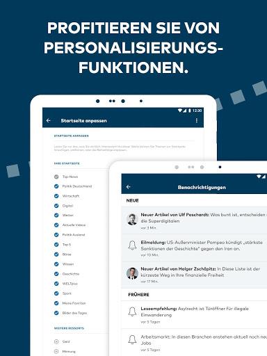WELT News Nachrichten live v6.7.3 screenshots 15