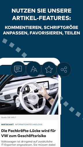 WELT News Nachrichten live v6.7.3 screenshots 4