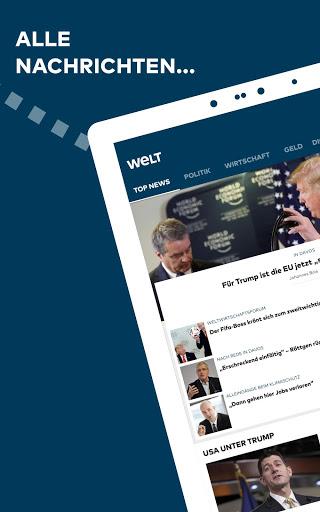 WELT News Nachrichten live v6.7.3 screenshots 5