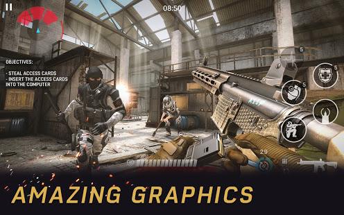 Warface GO Gun shooting game. FPS battles online v2.6.0 screenshots 2