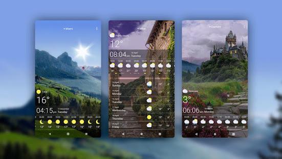 Weather Live Wallpapers v1.64 screenshots 10