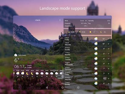 Weather Live Wallpapers v1.64 screenshots 11