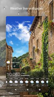 Weather Live Wallpapers v1.64 screenshots 6